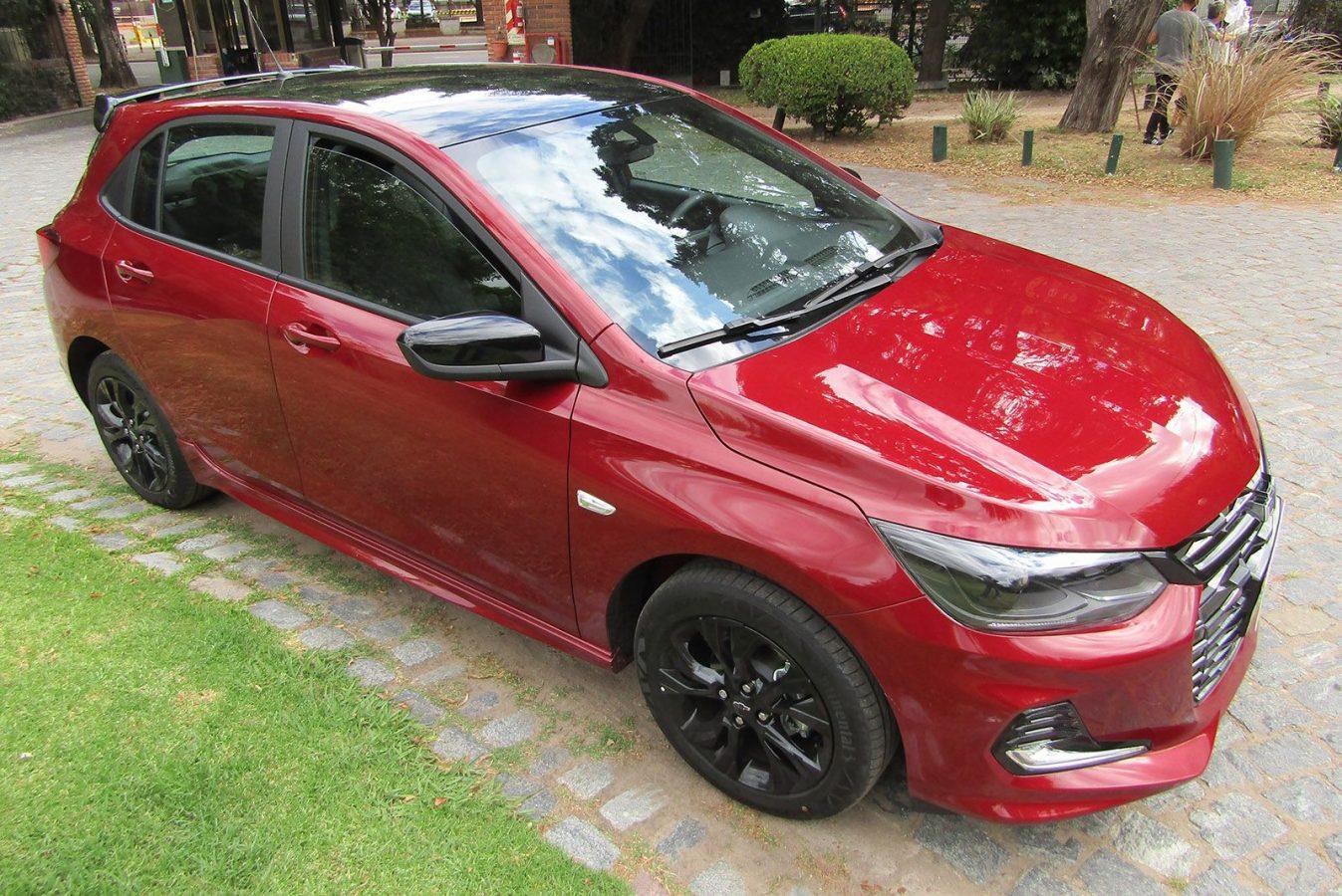 Así es el nuevo Chevrolet Onix RS