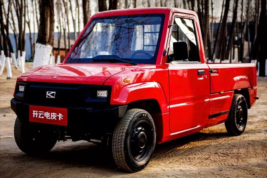 Alibaba lanza una pick-up eléctrica de menos de 4 mil dólares