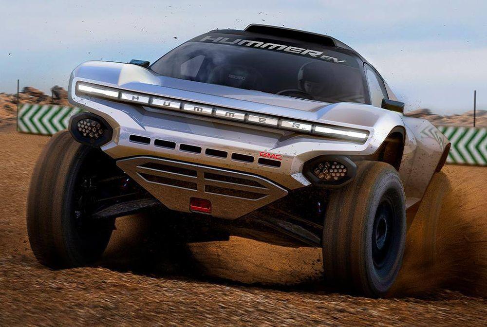 El Hummer EV participará en la competencia Extreme-E