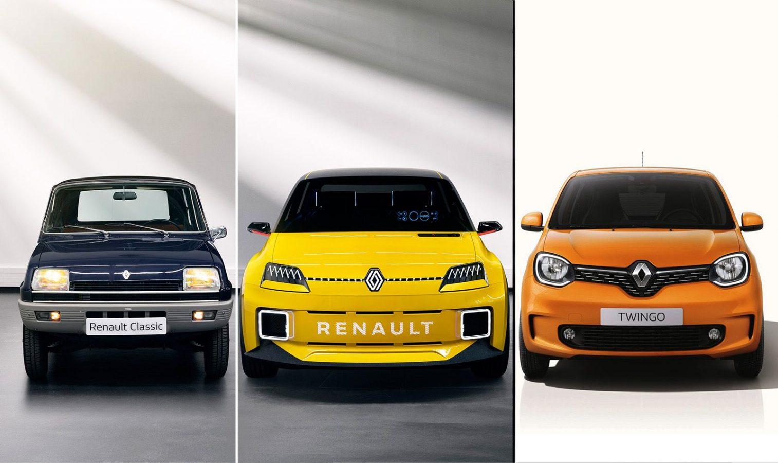 El nuevo R5 reemplazará al Twingo en 2024 ¿y vuelve el R4?
