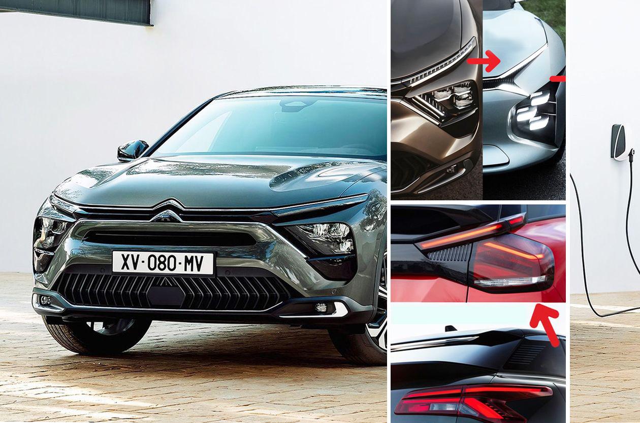 C5 X: la gran berlina de Citroën se convierte en crossover