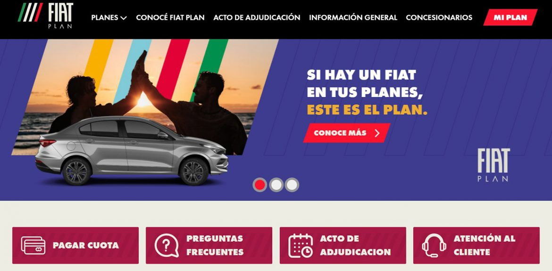 Fiat Plan actualizó su sitio web para una mejor experiencia del cliente