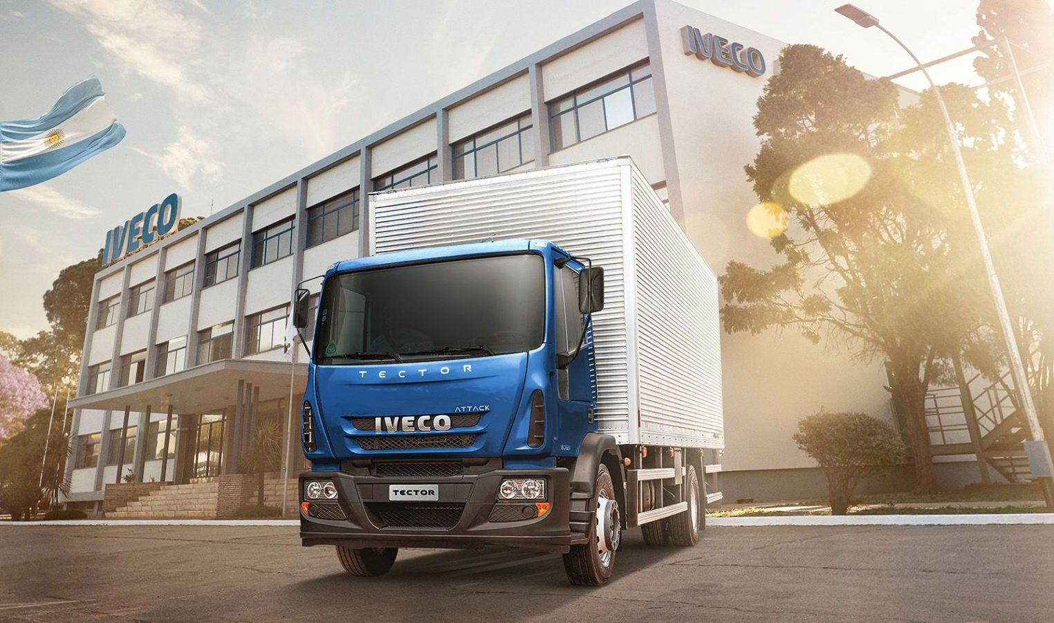 Iveco anunció que comenzará a producir camiones medianos en Argentina
