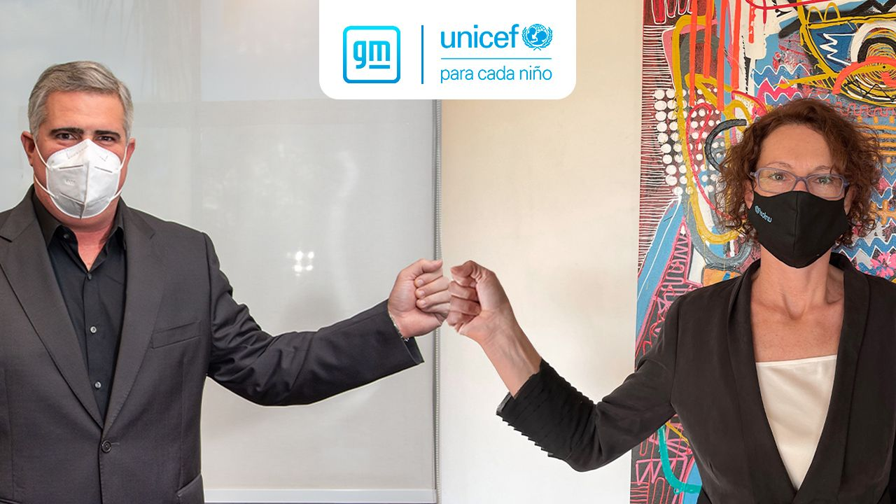 GM renueva su compromiso con UNICEF, unidos para la promoción de los derechos de los niños en Argentina