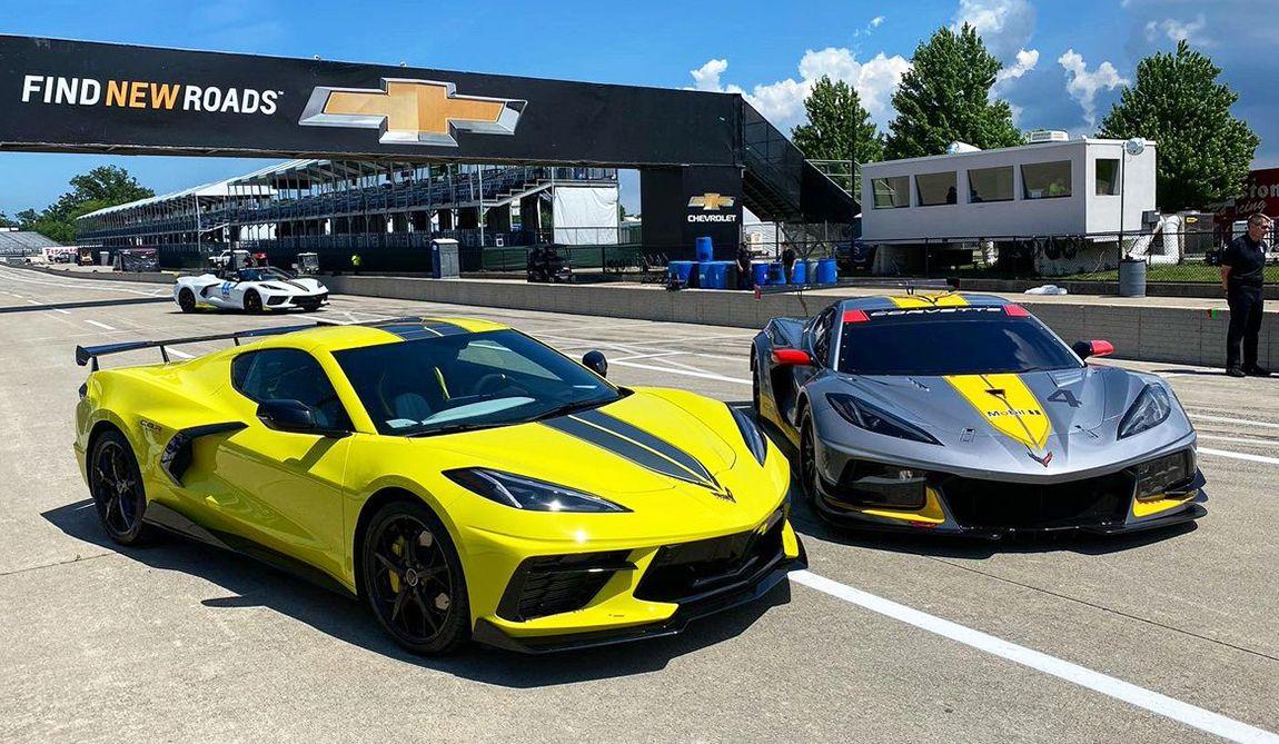 Chevrolet presentó el Corvette Stingray Edición Campeonato IMSA GTLM