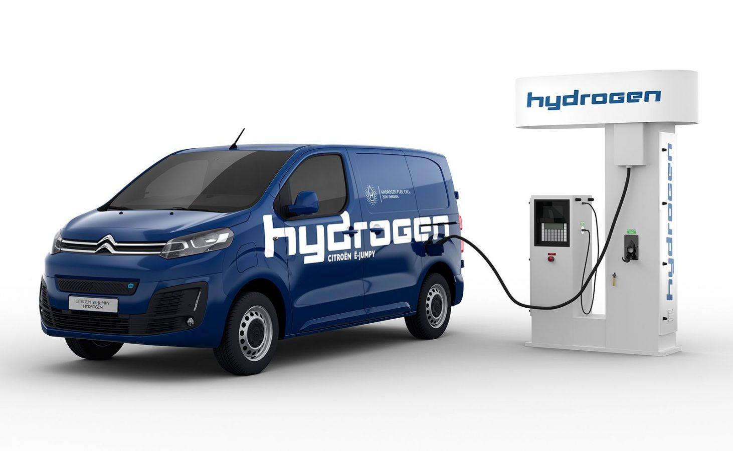 Ë-Jumpy Hydrogen: para atender las nuevas necesidades de los profesionales en Europa