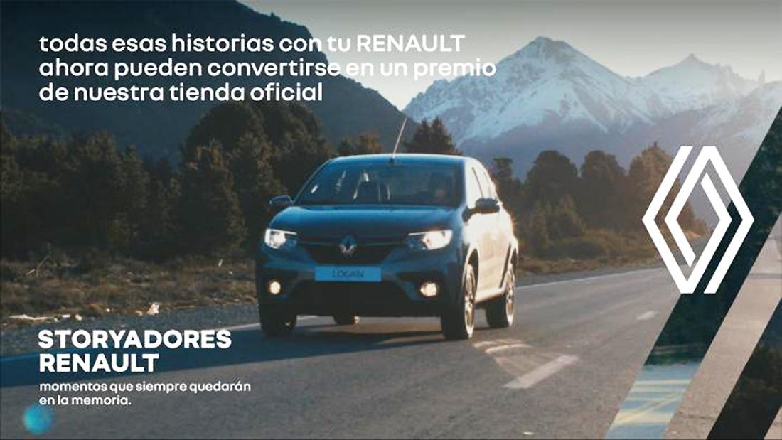 """""""Storyadores Renault"""": la campaña para competir experiencias de usuarios con la marca"""