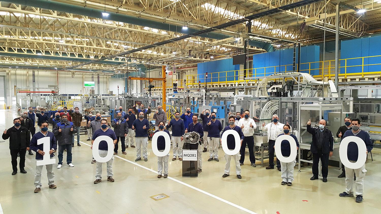 Volkswagen anunció que exportó 100.000 transmisiones MQ281