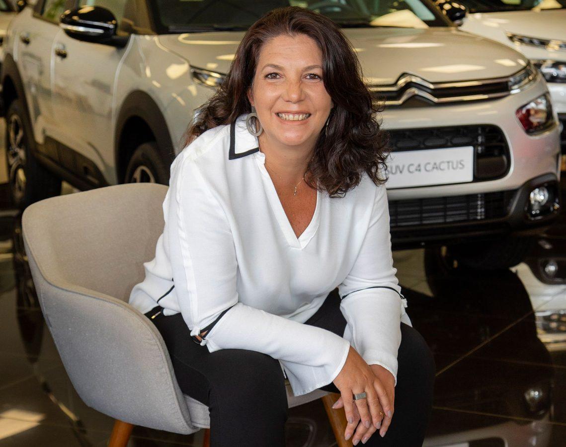 Vanessa Castanho al mando de Citroën en América del Sur