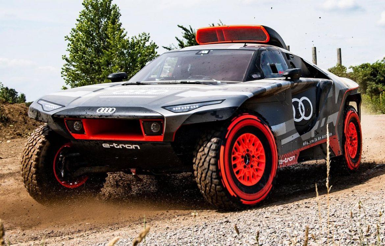 RS Q e-tron Dakar 2022: Audi develó su bólido eléctrico de competición