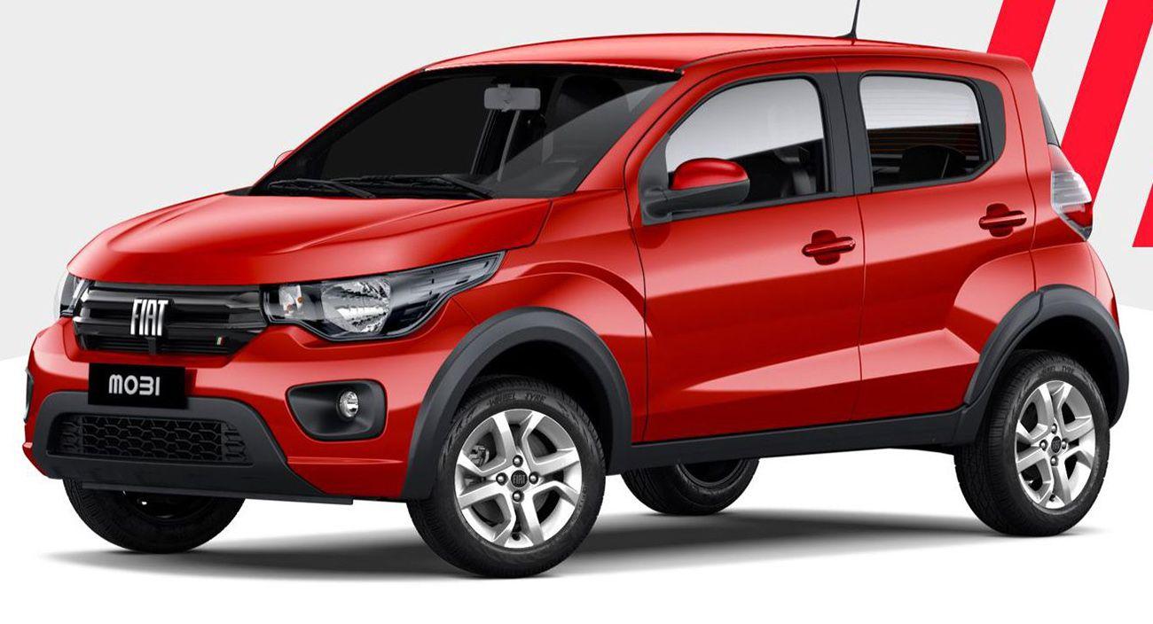 Mobi: Fiat lanzó la actualización de su modelo más chico