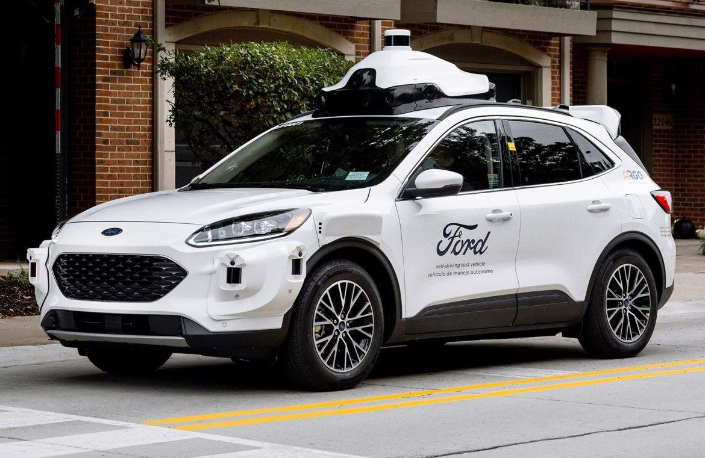 Ford y Argo AI lanzarán un servicio de taxis autónomos en USA a fines de año