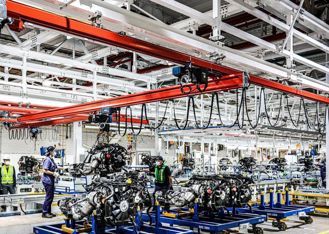 Ford incorpora tecnología LED en más de 60.000 m2 de su planta de Pacheco