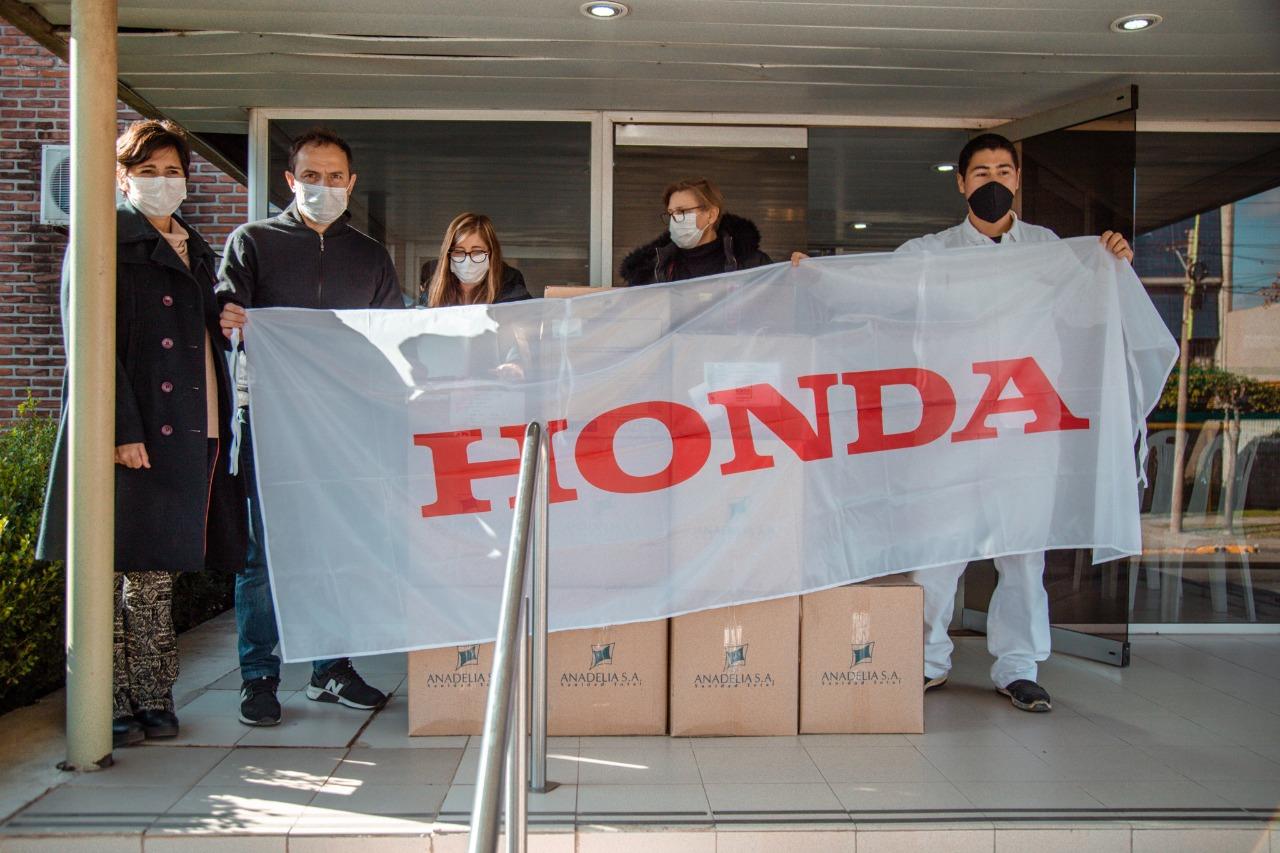 Honda Motor de Argentina acompaña a quienes más lo necesitan