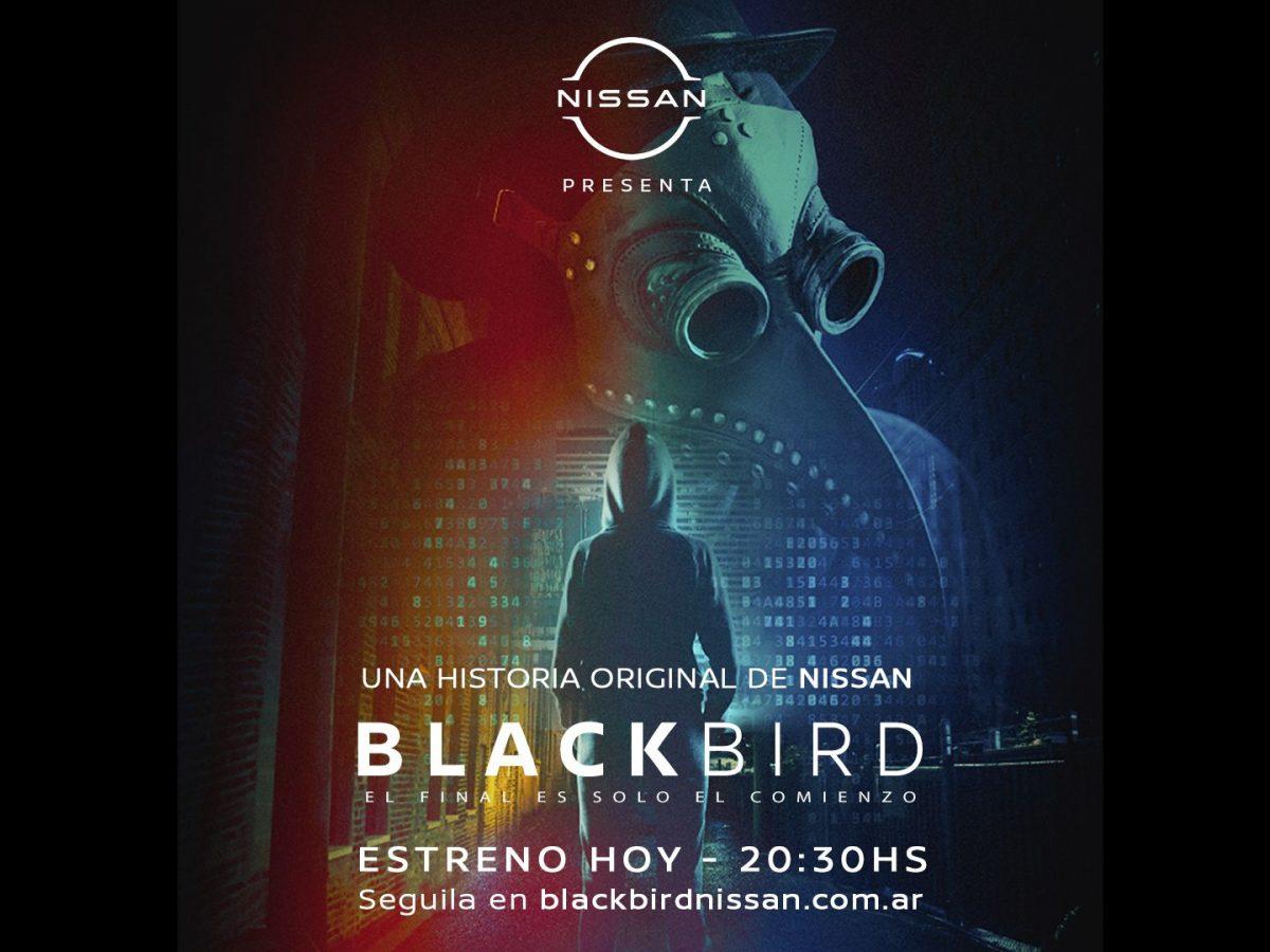 """Nissan presentó """"Blackbird"""", una miniserie de suspenso, misterio y acción"""