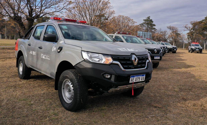 Renault presentó la Alaskan ETAC, una versión especial creada para catástrofes