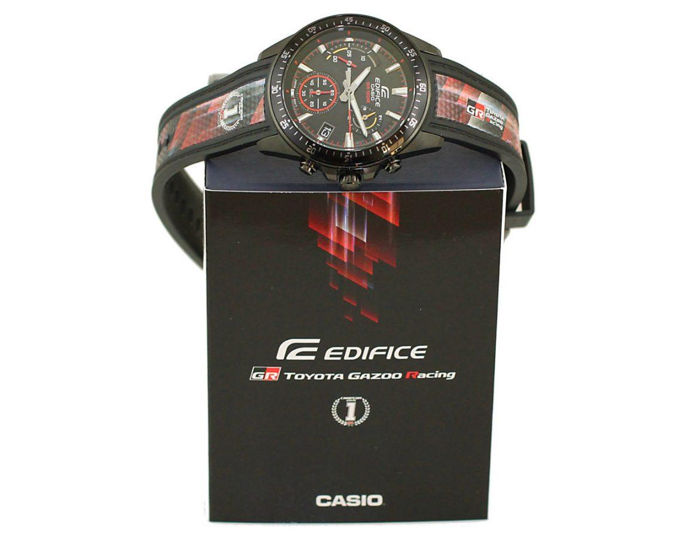 Toyota Gazoo Racing, en alianza con Casio, lanzó una edición limitada de relojes Edifice