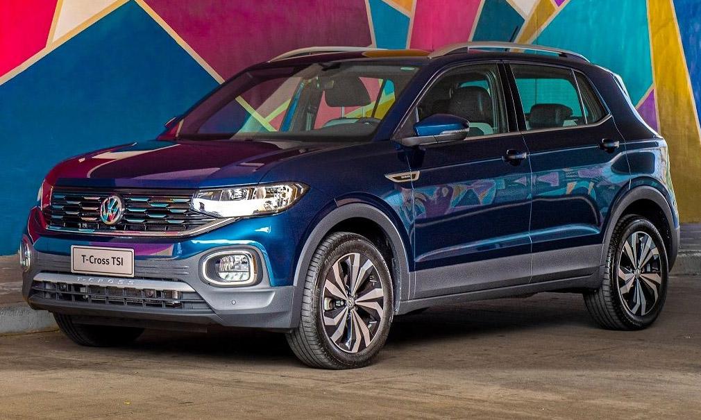 El VW T-Cross con motor turbo (200 TSI) se lanzó oficialmente en nuestro país