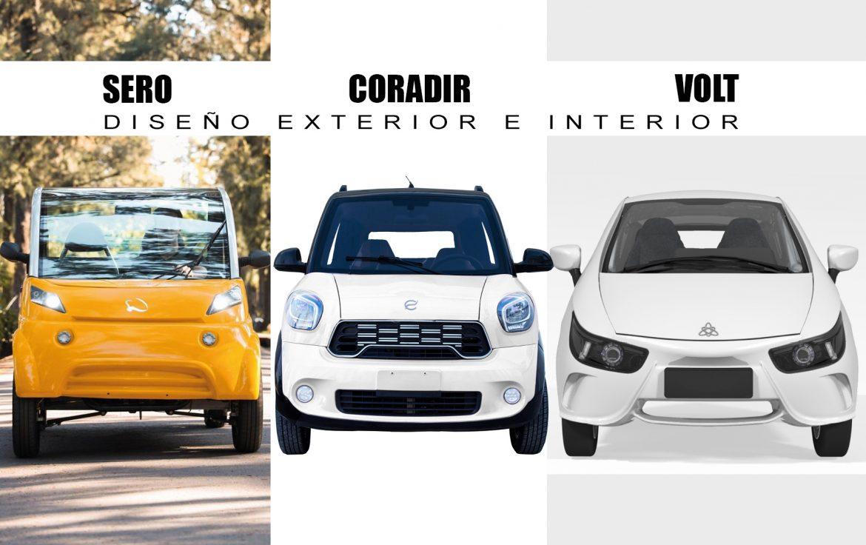 Sero vs. Coradir vs. Volt: ¿En qué se diferencian los pequeños eléctricos argentinos?