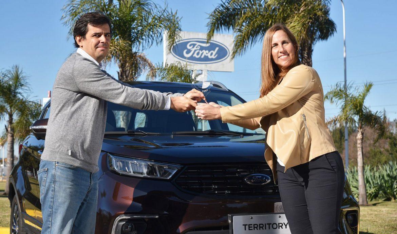 La Ford Territory fue galardonada por CESVI como el SUV mediano más seguro de 2020