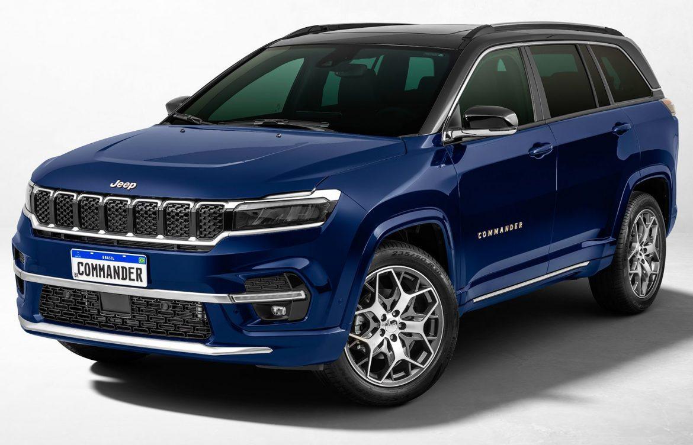 Commander: Así es el nuevo SUV regional de 7 plazas de Jeep