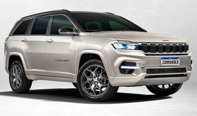 Jeep develó el diseño exterior de su nuevo SUV Commander: llegará a fin de año a la Argentina