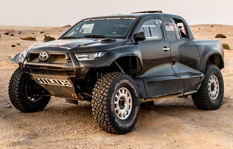 Así es el Toyota GR DKR Hilux T1+ que participará en el Dakar 2022