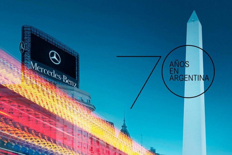 Mercedes-Benz celebra sus 70 años en Argentina con anuncio de inversiones