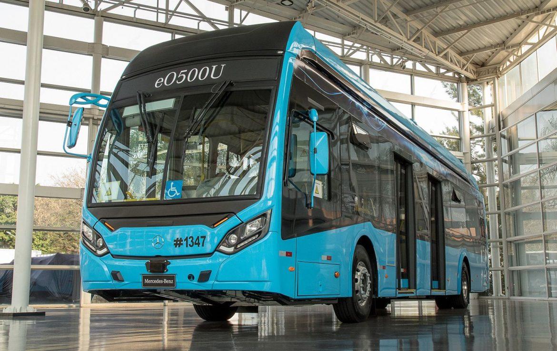 Mercedes-Benz presentó un nuevo bus eléctrico en Brasil: se lanzará en la región en 2022