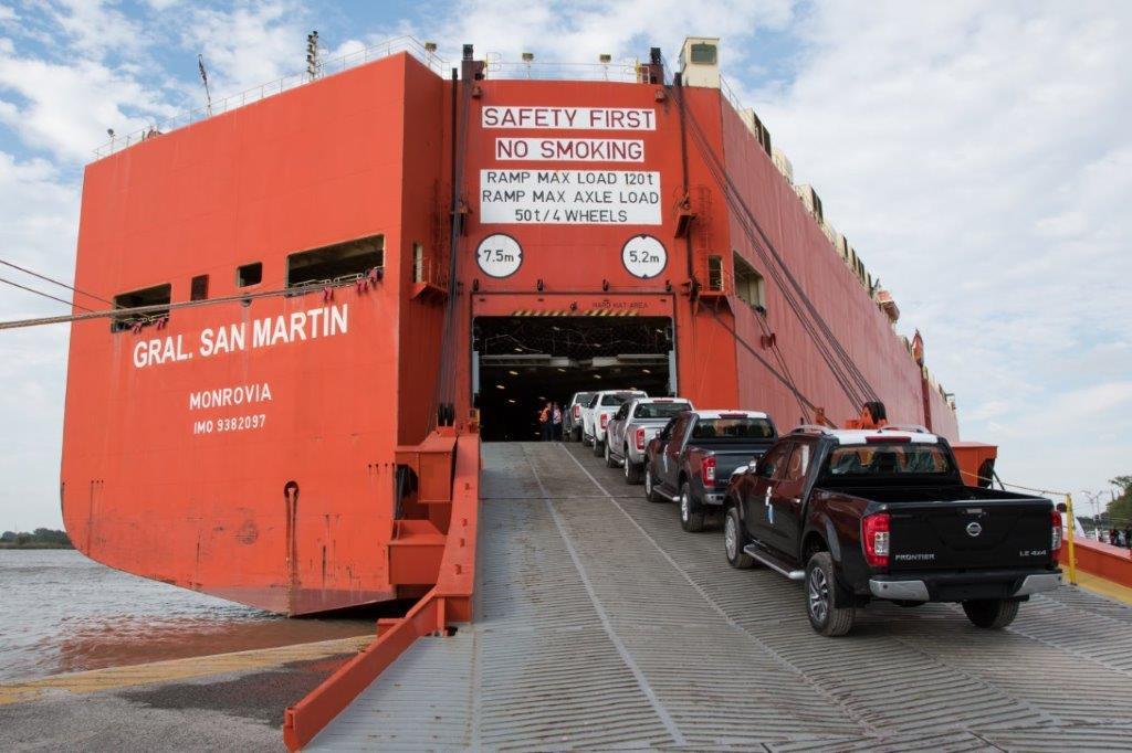 Frontier: la pick-up de Nissan alcanzó las 25.000 unidades exportadas a Brasil