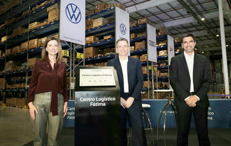 VW inauguró su nuevo Centro Logístico Fátima para abastecer a toda la región y el mundo