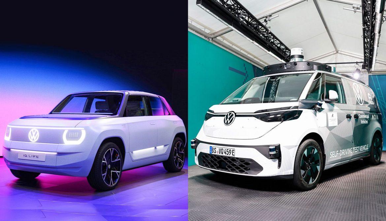 ID: la familia eléctrica de VW sumará al ID Buzz AD (Kombi) y al ID Life (ID.2)