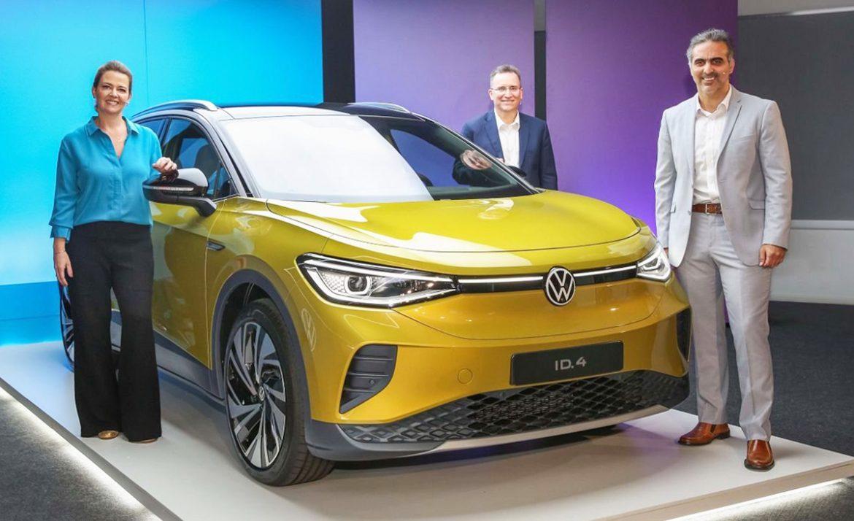 Los VW ID.3 e ID.4 llegan a la Argentina para que el público tome su primer contacto