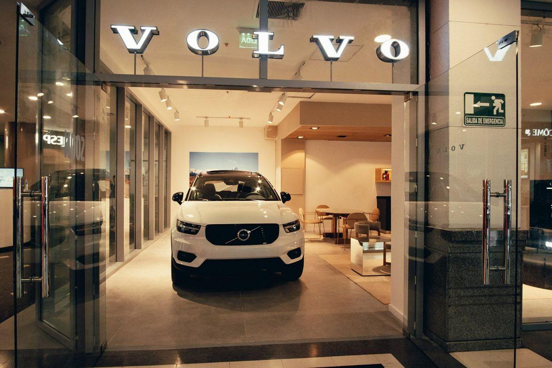 Volvo lanzó su nuevo Concept Store en el Alcorta Shopping