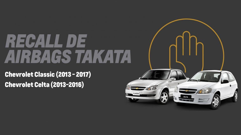Chevrolet continúa su llamado a revisión de unidades Celta y Classic
