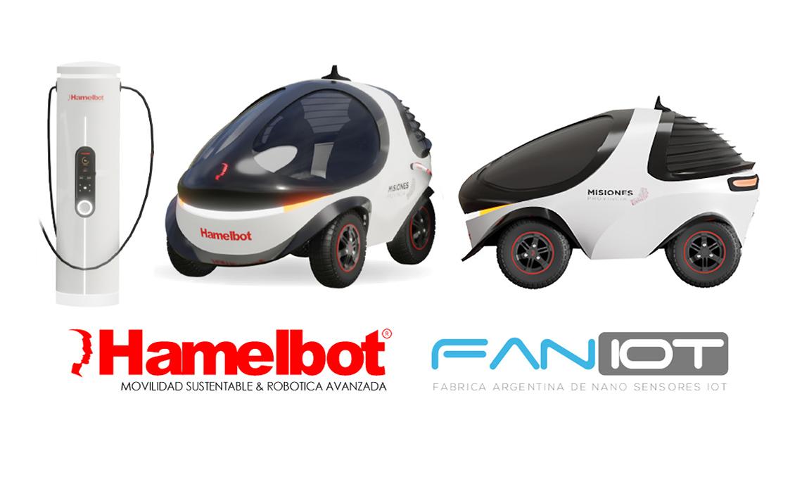 Hamelbot: Cómo será su auto eléctrico C-R2 y su sistema de recarga