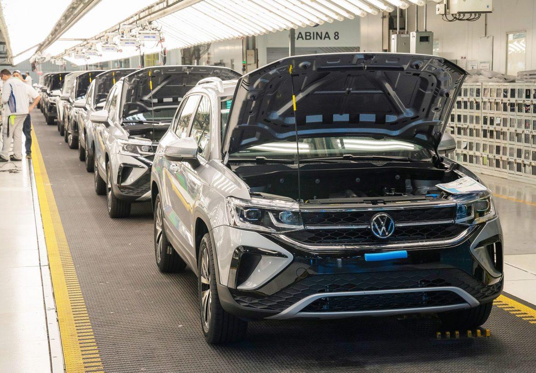 Volkswagen ya produjo más de 11.000 unidades del Taos en Pacheco